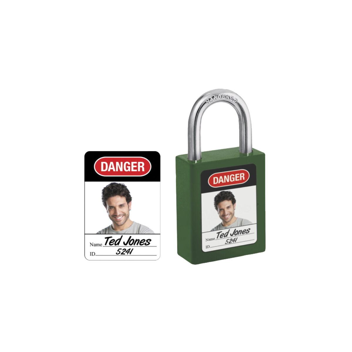 AMERICAN LOCK cadenas de consignation 6835-5700 étiquettes de cadenas