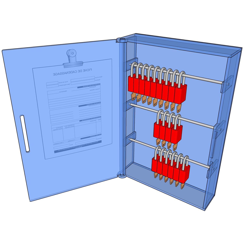 Postes de cadenassage en polycarbonate BLC-1218